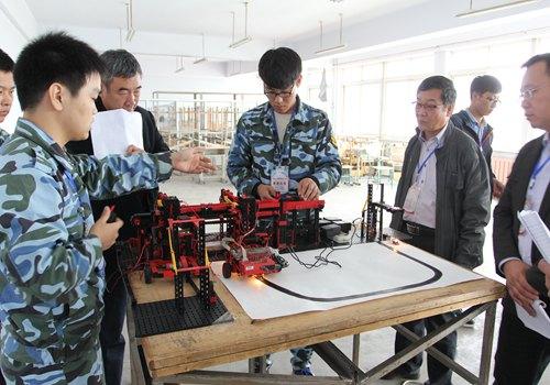 我校在2015年辽宁省大学生机械创新设计大赛中获佳
